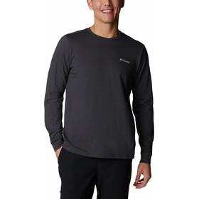 Columbia Pikewoo Graphic Maglietta a maniche lunghe Uomo, grigio